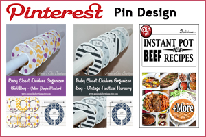 Portfolio for Pinterest Pin Designing using Photoshop