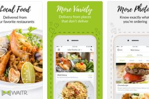 Portfolio for Waitr-Local Food Delivered(React Native)