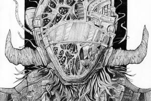 Portfolio for Hand drawn dark fantasy illustration
