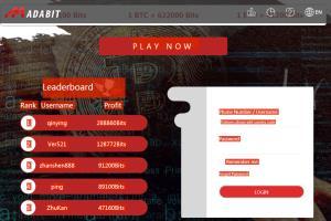 Portfolio for Gambling Website: BTC/ETH, Node, React