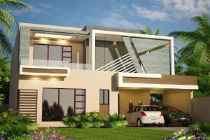 Portfolio for House Interior and Exterior Renderings