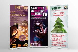 Portfolio for Posters / Pull-up Banners