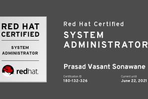 Portfolio for Linux / Windows / VMware Administration