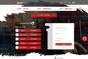 Portfolio for Gambling Website Development.
