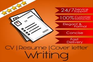 Portfolio for Professional CV | Resume | Cover Letter