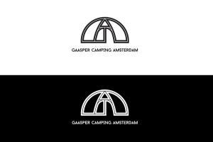 I created a logo for Gaasper Camping Amsterdam.The com