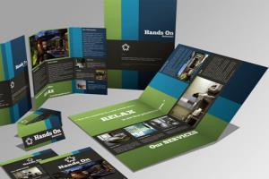 Portfolio for Corporate Brochure, Flyer design