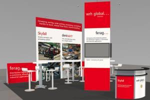 Portfolio for Fabulous Trade booth design