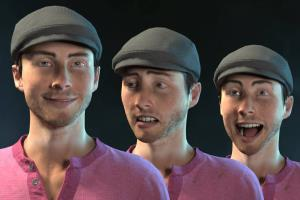 Portfolio for 3D character rigging & animation
