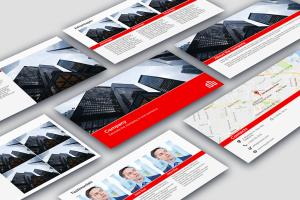 Portfolio for Business presentations design