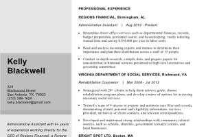 Portfolio for I Will Rewrite And Design CV, Resume, Cl