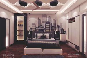 Portfolio for 3d interior designer