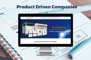 Portfolio for Websites for Product Driven companies
