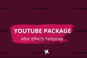 Portfolio for Video-templates Editing AE-PR