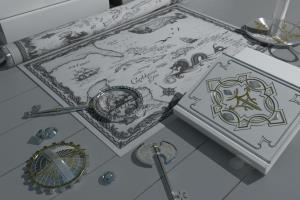 Portfolio for Inorganic 3D modeling artist