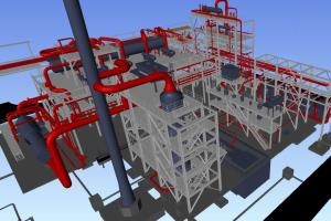 3D Plant Model - Piping