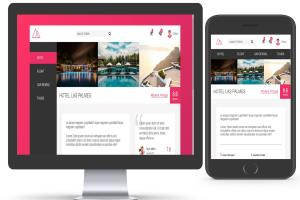 Portfolio for Convert PSD to HTML5+CSS3 Web Page