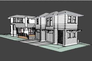 Portfolio for SketchUp design and modeling