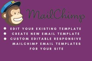 Portfolio for Mailchimp Email and Newsletter Designs