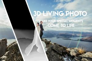 Portfolio for 3D Living Photo Service