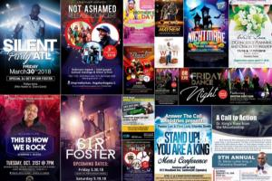 Portfolio for Premium Quality Posters & Flyers Design