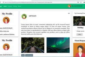 Portfolio for Create Responsive website Template