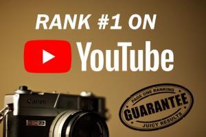 Portfolio for Youtube Videos To Improve Rankings