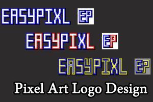 Portfolio for Design Unique Pixel Art Logo