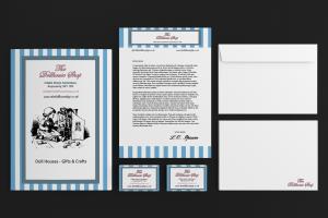 Portfolio for Design Professional Stationery Set