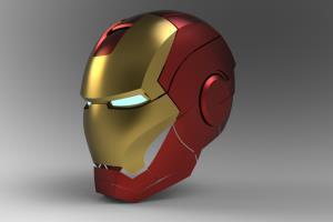 Ironman Helmet Design