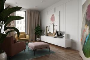 Portfolio for Interior design, 3D modeling