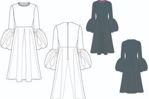 Portfolio for Technical fashion designer