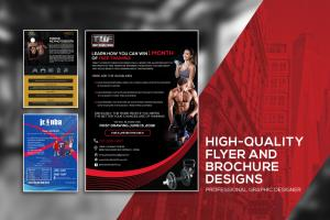 Portfolio for Creative Flyers and Brochure Design