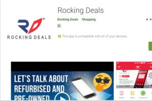 E-Commerce android app (Roking deals)