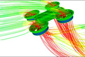 Portfolio for CFD simulation service by ansys fluent
