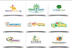 Portfolio for I will design Modern logo