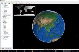 Portfolio for I will create virtual 3d globe