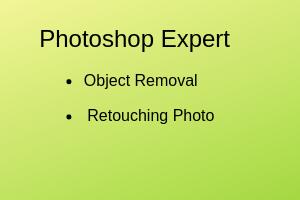 Portfolio for Person or Object remove