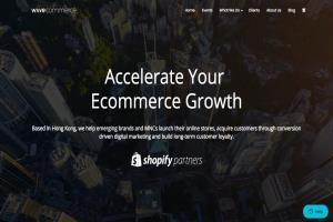 Wordpress site of a full-service digital agency