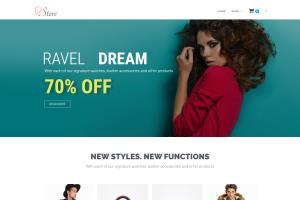 Portfolio for develop full responsive ecommerce site