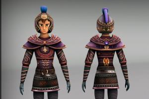 Portfolio for 3D Character Design