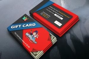 Portfolio for gift card, loyalty card and voucher
