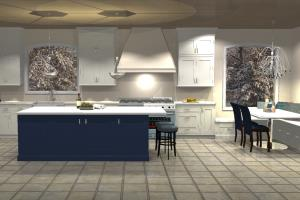 Portfolio for Kitchen & Bath Design, 2020 Renderings