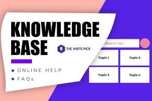 Portfolio for Knowledge Base - Web Help