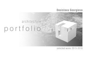 Portfolio for 3d modeling and rendering