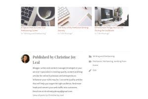 Portfolio for Blog and Content Writing