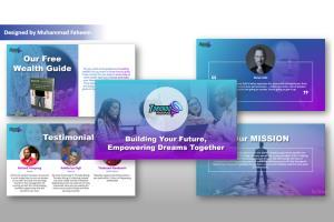 Portfolio for Branded PowerPoint Presentation Design