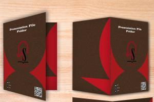Portfolio for I will do professional folder design