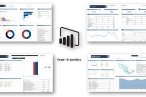 Portfolio for BI/DWH developer (PowerBI/SQL Server)