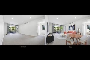 Portfolio for Virtual staging